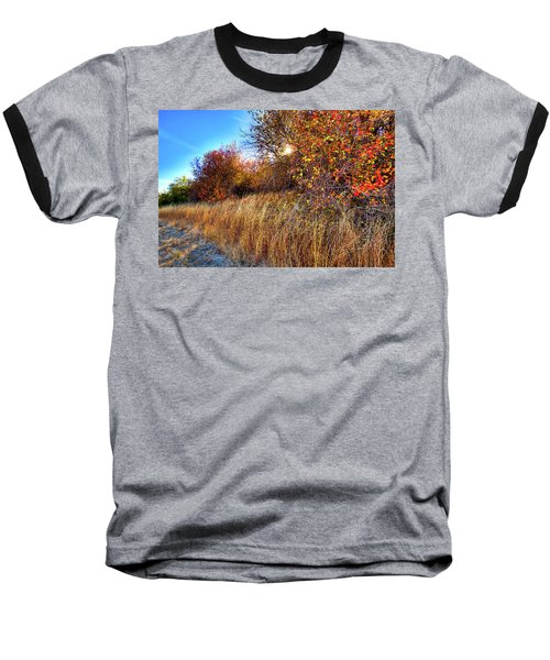 Baseball T-Shirt featuring the photograph Autumn At Magpie Forest by David Patterson