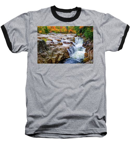 Autumn Color At Rocky Gorge Baseball T-Shirt