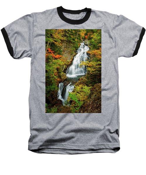 Autumn Falls, Crystal Cascade Baseball T-Shirt
