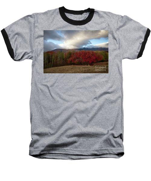 Autumn Foothills Baseball T-Shirt
