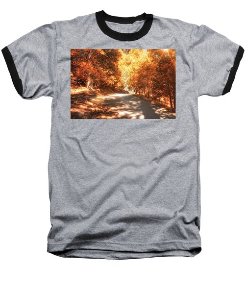 Autumn Forest Baseball T-Shirt