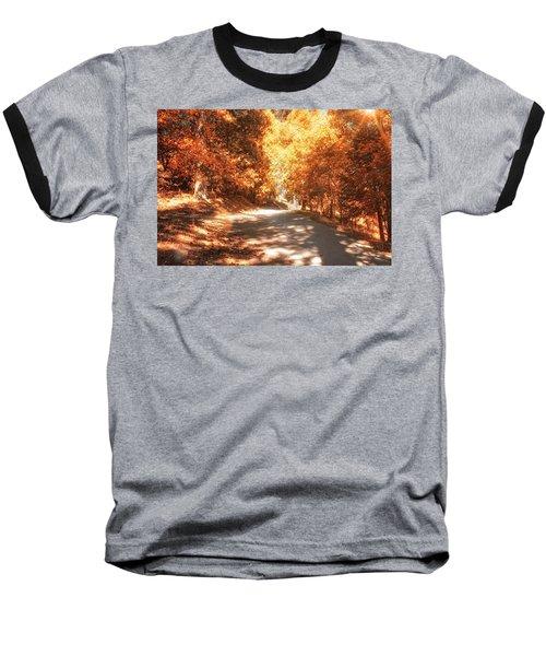Autumn Forest Baseball T-Shirt