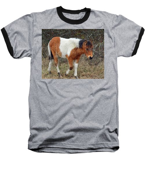 Autumn Glory N2bhs-ap On Assateague Island Baseball T-Shirt
