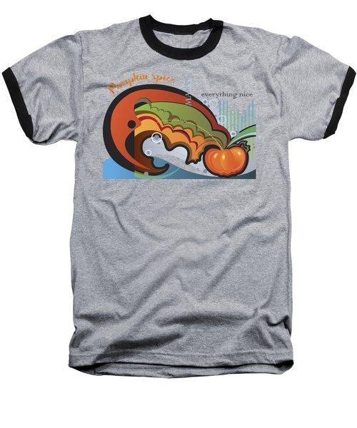 Autumn Greetings Card Baseball T-Shirt