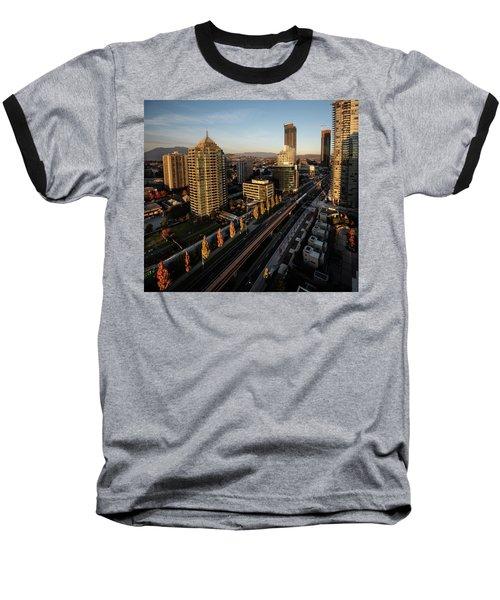 Autumn In Burnaby Baseball T-Shirt