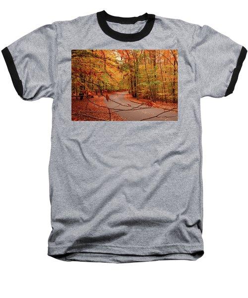 Autumn In Holmdel Park Baseball T-Shirt