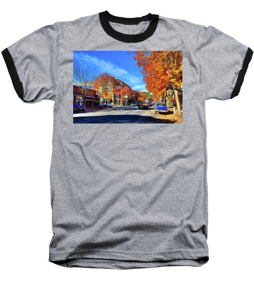 Baseball T-Shirt featuring the photograph Autumn In Pullman by David Patterson