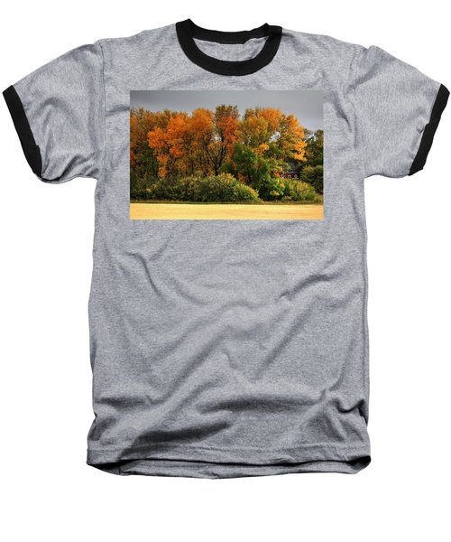 Autumn Is Nigh  Baseball T-Shirt