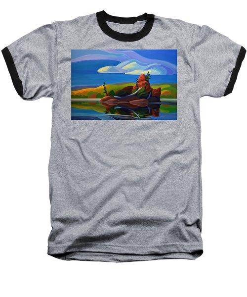 Autumn Island Baseball T-Shirt