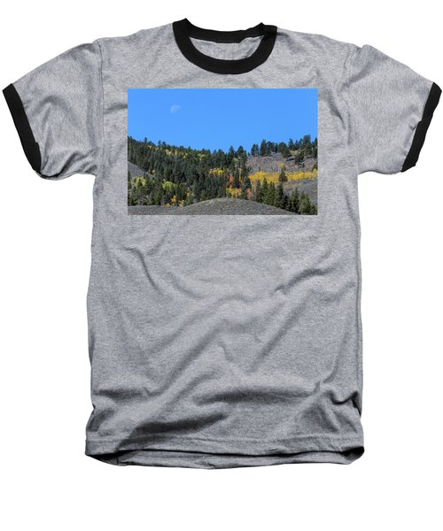 Baseball T-Shirt featuring the photograph Autumn Moon by James BO Insogna