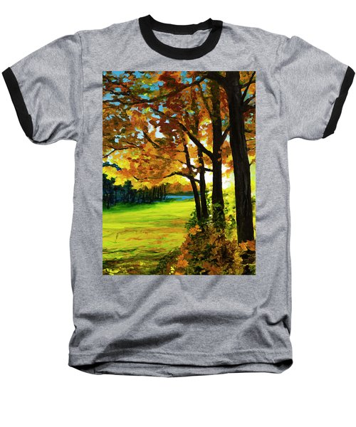 The Sun Will Rise With Healing In His Wings Baseball T-Shirt