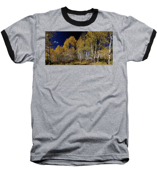 Baseball T-Shirt featuring the photograph Autumn Walk In The Woods by James BO Insogna