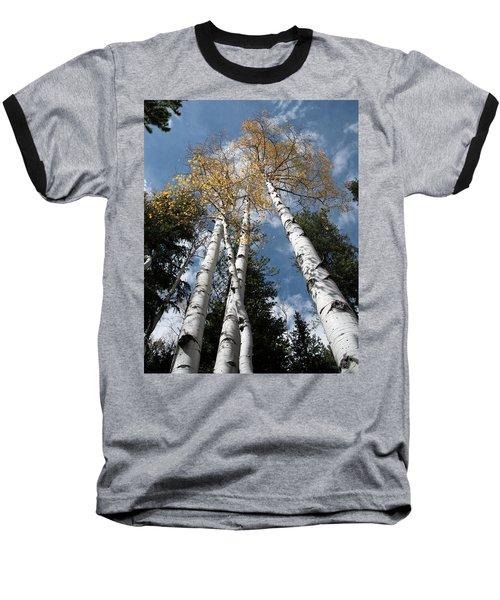 Autumnal Aspen Baseball T-Shirt