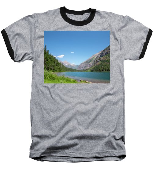 Avalanche Lake Baseball T-Shirt