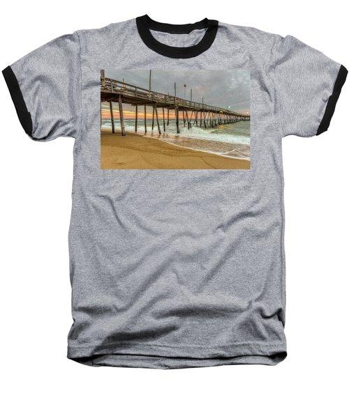 Avalon Pier - Kill Devil Hills Nc Baseball T-Shirt