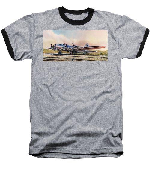B-17g Sentimental Journey Baseball T-Shirt