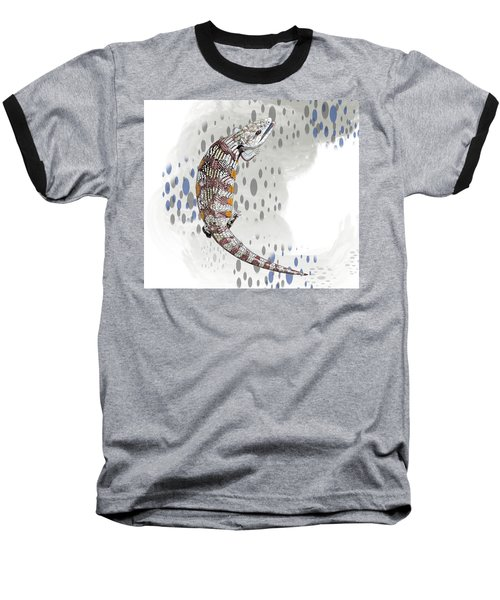 B Is For Blue Tongue Lizard Baseball T-Shirt