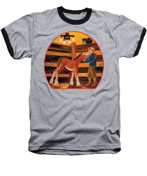Baby Cricket's Kiss Baseball T-Shirt