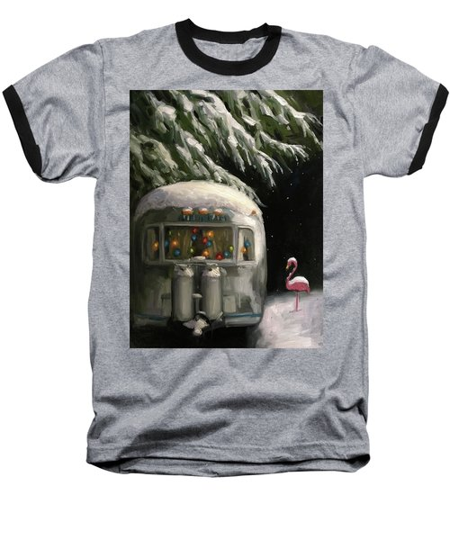 Baby, It's Cold Outside Baseball T-Shirt