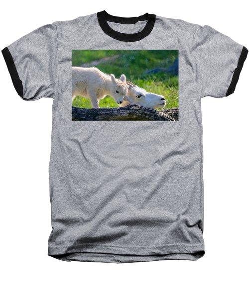 Baby Loves Mama Baseball T-Shirt
