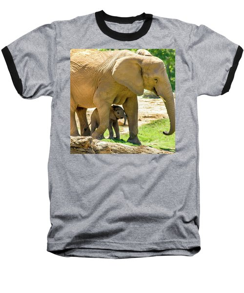 Baby's Safe House Baseball T-Shirt