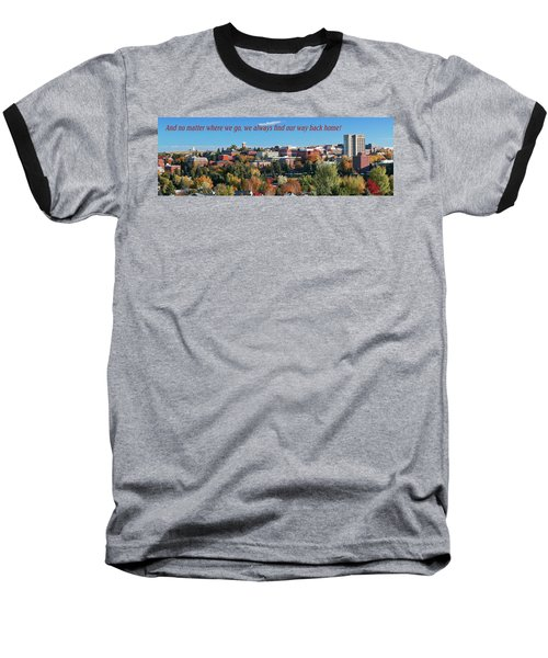 Baseball T-Shirt featuring the photograph Back Home 2 by David Patterson