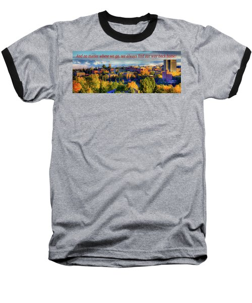 Baseball T-Shirt featuring the photograph Back Home 3 by David Patterson
