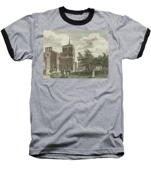 Back Of State House Baseball T-Shirt