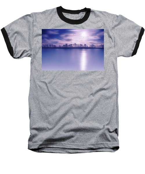 Back To The Moon Baseball T-Shirt