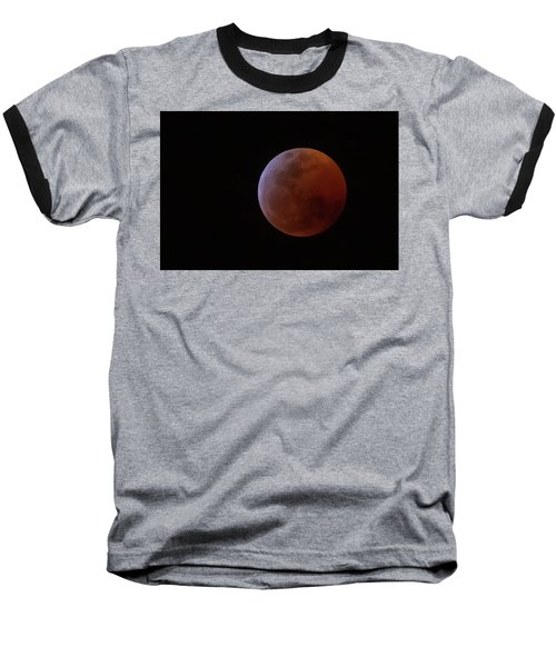Bahamian Super Blood Wolf Moon Baseball T-Shirt