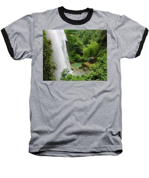 Baiyun Waterfall Baseball T-Shirt