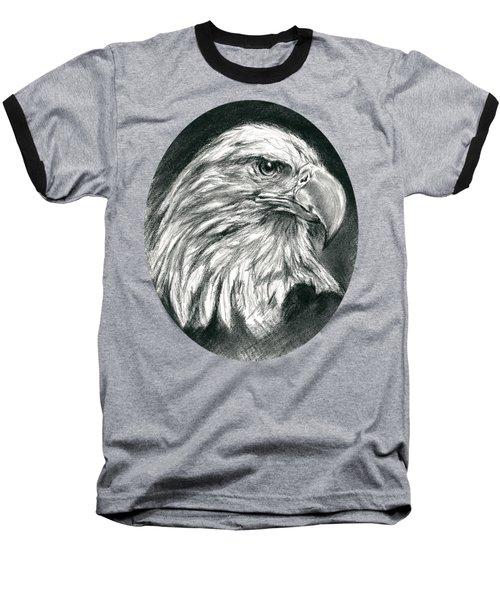 Bald Eagle Intensity Baseball T-Shirt