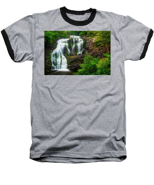 Baseball T-Shirt featuring the photograph Bald River Falls by Andy Crawford