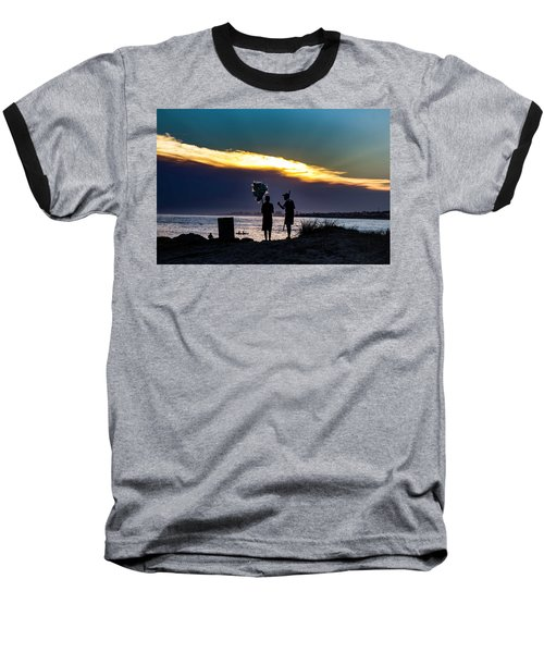 Baloon Seller Baseball T-Shirt