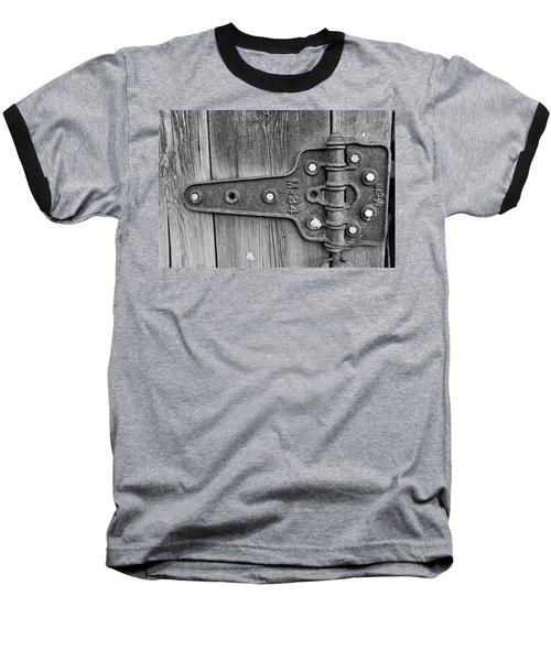 Barn Hinge Baseball T-Shirt