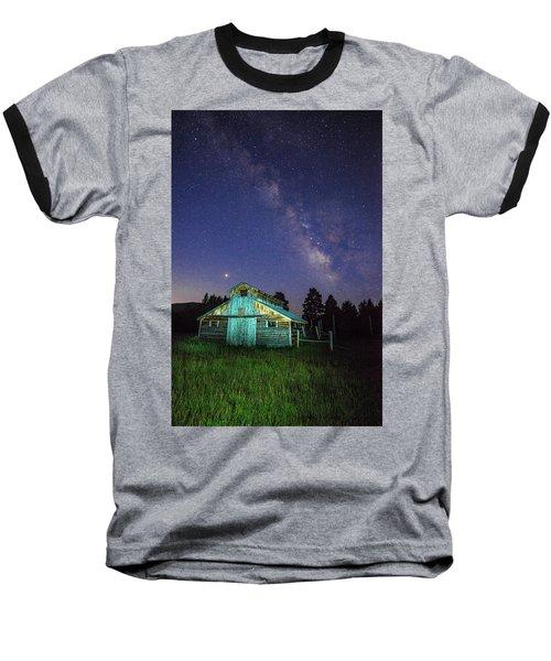 Barn In Rocky 2 Baseball T-Shirt