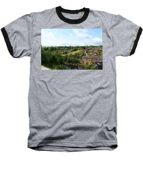 Barnard Castle View Baseball T-Shirt