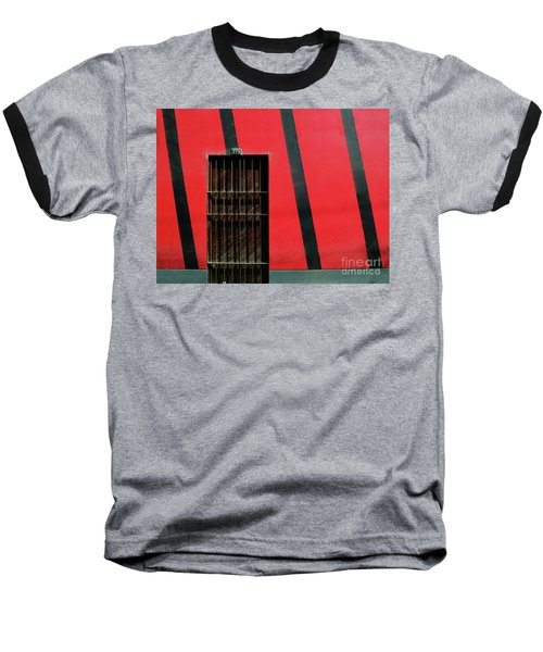 Bars And Stripes Baseball T-Shirt