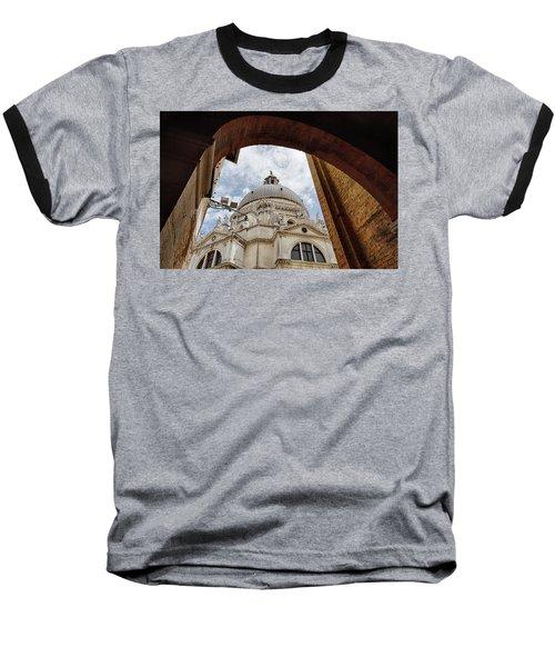 Basilica Di Santa Maria Della Salute Venice Italy Baseball T-Shirt