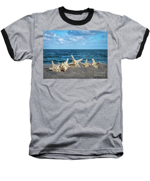 Beach Dance Baseball T-Shirt