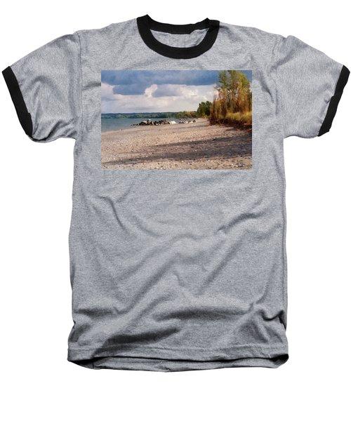 Beach Storm Baseball T-Shirt