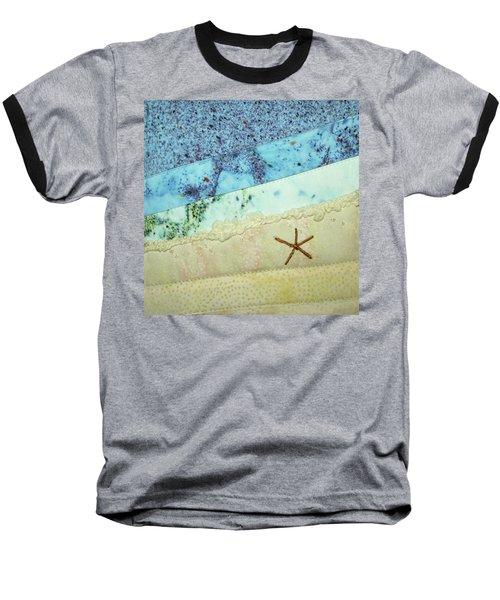 Beach Time Baseball T-Shirt