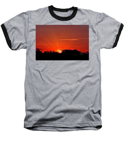 Beacon Heights Sunrise Baseball T-Shirt