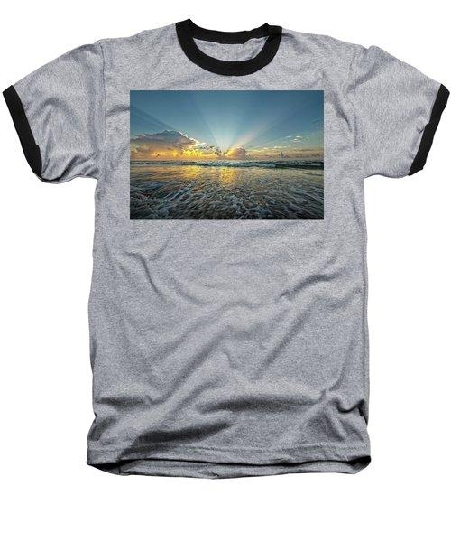 Beams Of Morning Light 2 Baseball T-Shirt