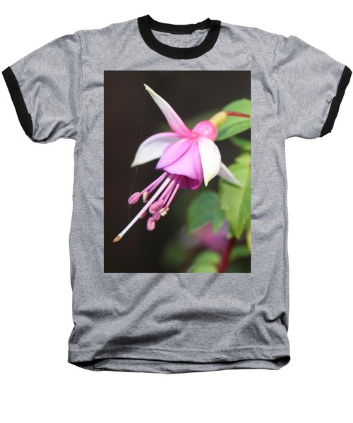 Beautiful Fuchsia Baseball T-Shirt
