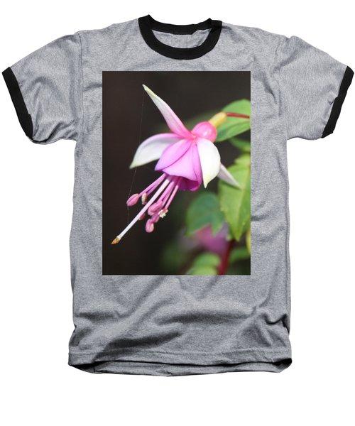 Beautiful Fuchsia Baseball T-Shirt