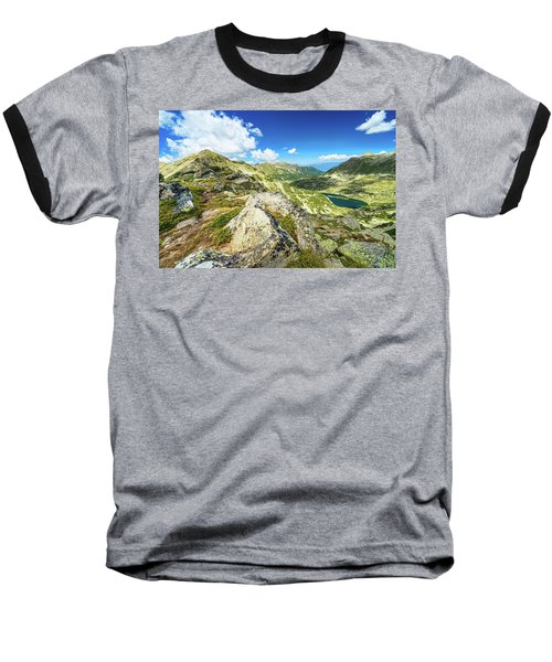 Beautiful Landscape Of Pirin Mountain Baseball T-Shirt