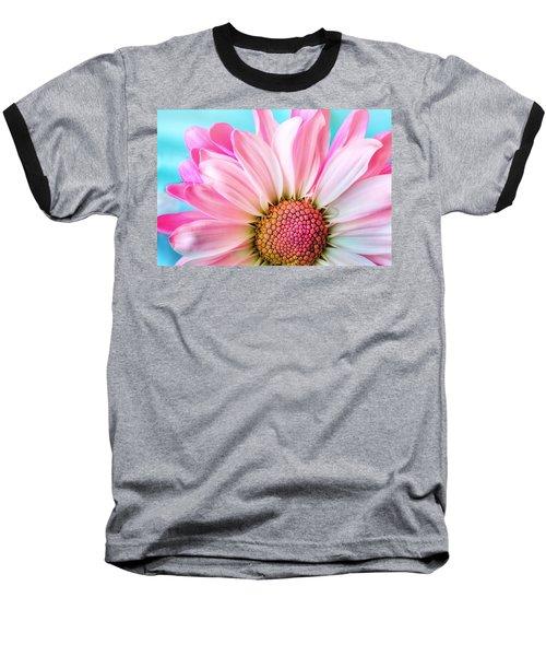 Beautiful Pink Flower Baseball T-Shirt
