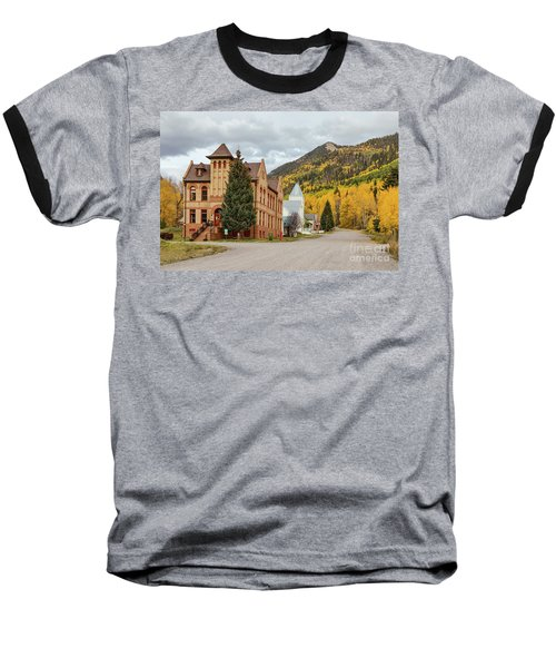Baseball T-Shirt featuring the photograph Beautiful Small Town Rico Colorado by James BO Insogna