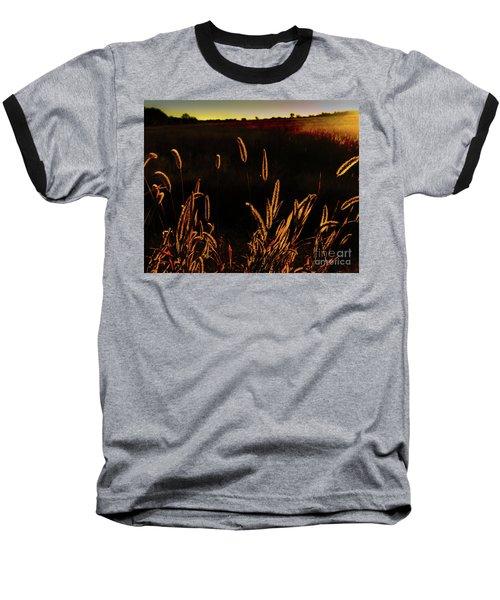 Beauty In Weeds Baseball T-Shirt